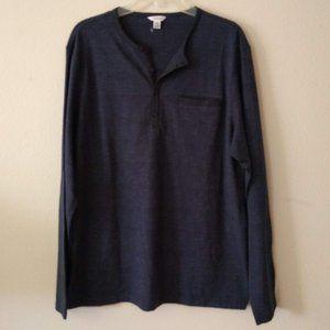 Calvin Klein Long Sleeve Henley Shirt